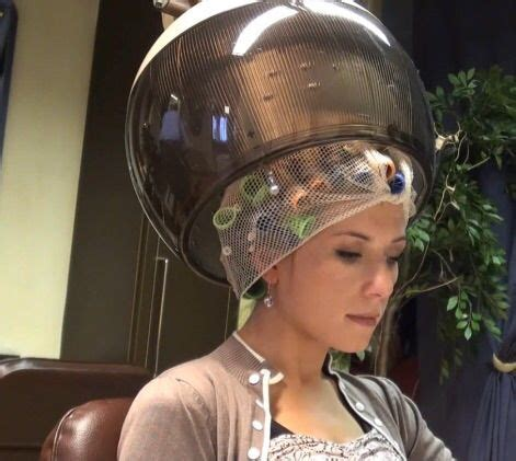 his hair under the dryer 252 best images about under the dryer hood on pinterest