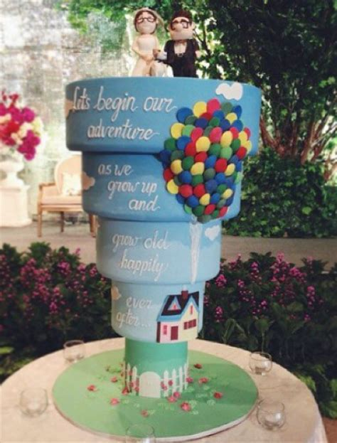 Disney Wedding Cake by These Disney Inspired Wedding Cakes Are Jaw Dropping