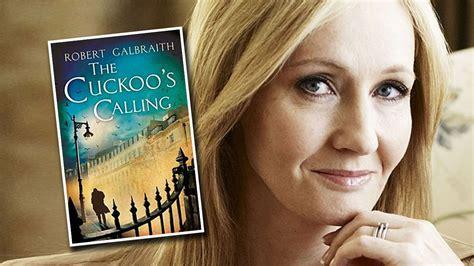 The Cuckoo S Calling j k rowling revealed as secret author of crime novel