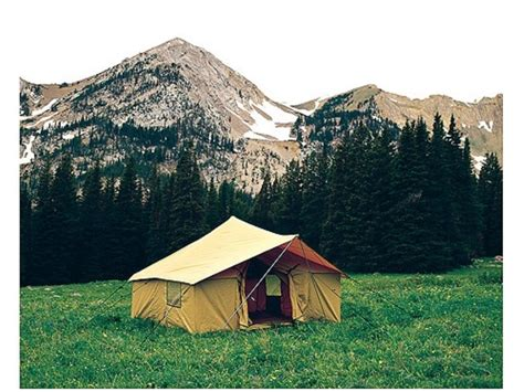 montana canvas tents gallery montana canvas tent fly spike 3 12 x 12 tent