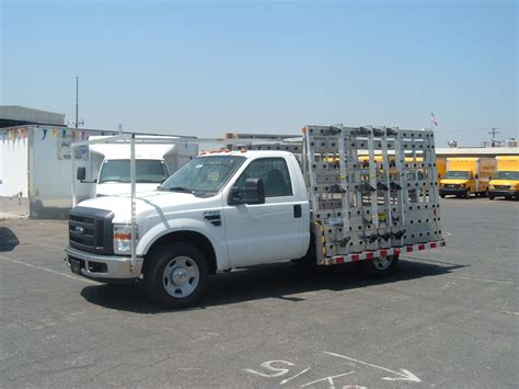 Glass Rack Truck by Ford F 350 Glass Rack Truck Autos Machinematch
