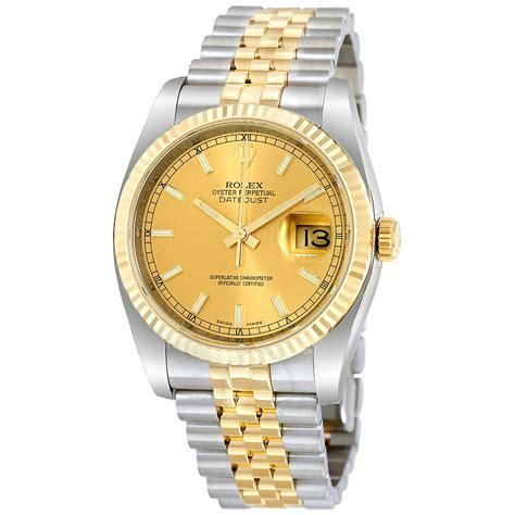rolex datejust chagne index jubilee bracelet two
