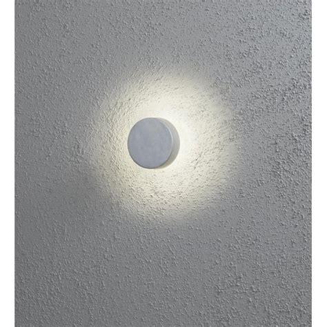 konstsmide new pesaro led outdoor wall light in aluminium