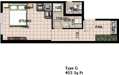 floor plan studio type times square tower freehold emirates city plot c10 c11