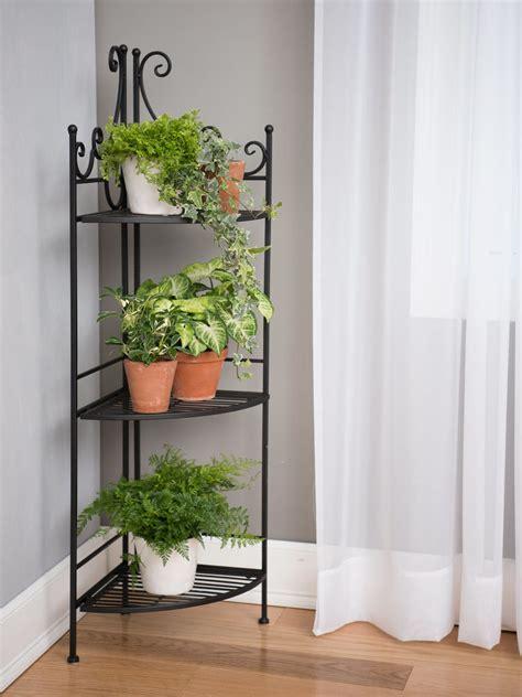 esschert corner folding etagere plant stand gardeners