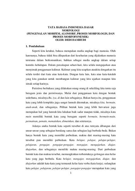 Intisari Tata Bahasa Indonesia tata bahasa indonesia dasar