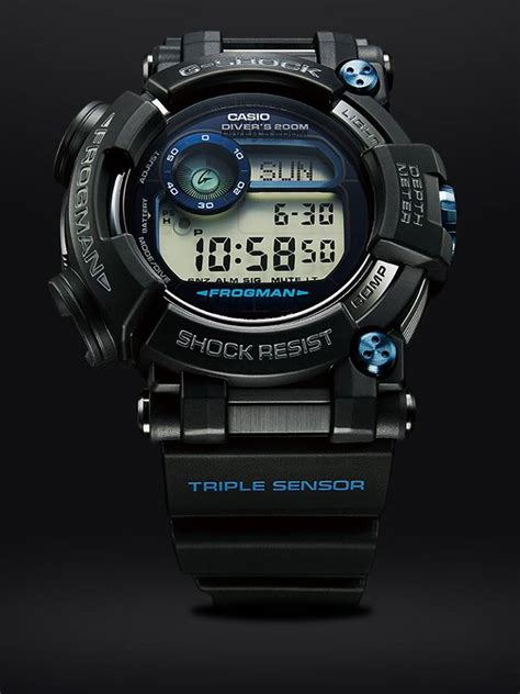 Casio G Shock Frogman Gwf D1000b 1jf With Water Depth Sensor Jdm Origi gwf d1000 new generation g shock frogman
