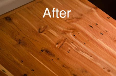 Refinish A Cedar Pdf Woodworking