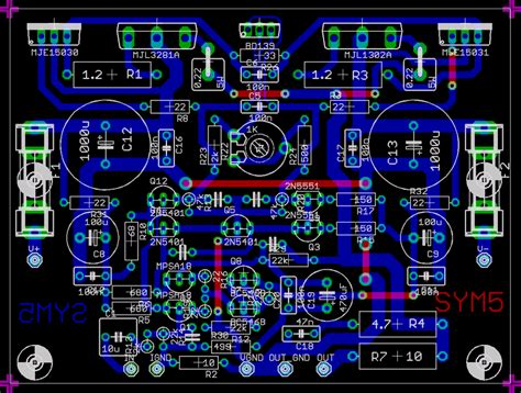 Power Lifier Di Jakarta 4 ohm audio lifier schematic 4 get free image about