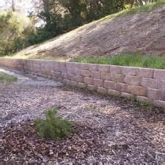 keystone retaining wall steep slope palomar pinterest