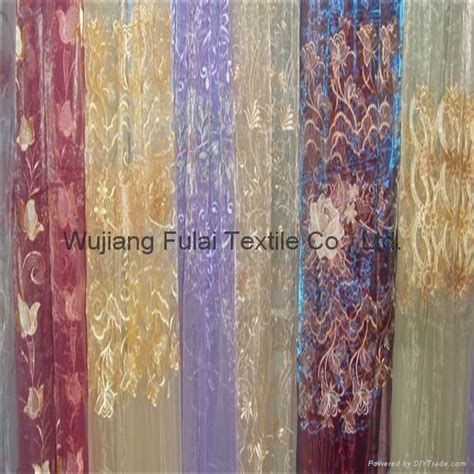organza curtain fabric embroidery organza curtain fabric 30d 30d china