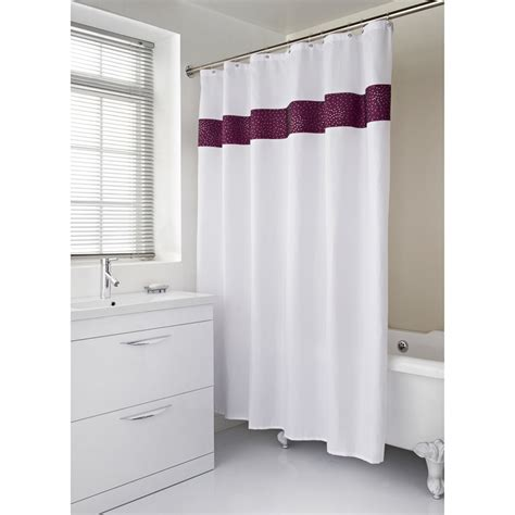 Shower Curtain By Toko Bm diamante shower curtain home bathroom b m