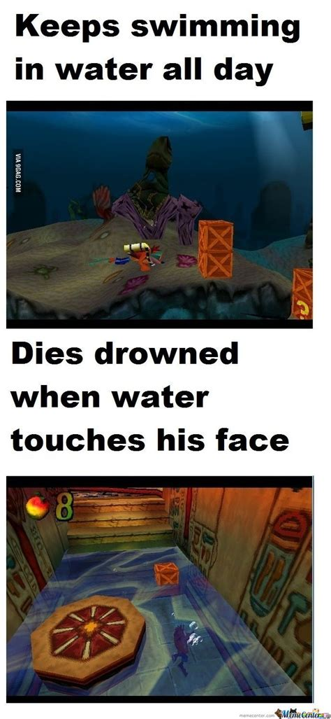 Crash Meme - crash bandicoot logic by recyclebin meme center