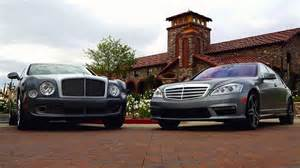 Mercedes Bentley Mercedes S65 Amg Vs Bentley Mulsanne 2