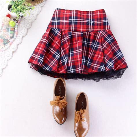 Supplier Hq Tartan Top By Adieva aliexpress buy 8 colors high quality school skirt fashion plaid skirt