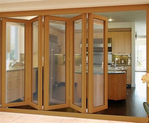 folding wooden doors interior solid wood folding doors design interior home decor