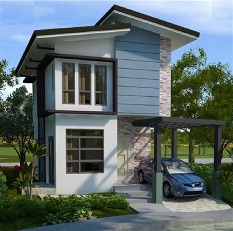 The New Small House Narrow Modern Small House Design