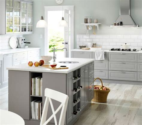 Ikea Grey Kitchen Cabinets by Best 25 Grey Ikea Kitchen Ideas On Ikea