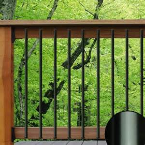 Aluminum Railing Balusters Traditional Aluminum Balusters Deckorators The Deck