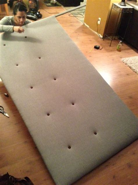 how to make your own headboard out of fabric 1000 ideas about make your own headboard on pinterest