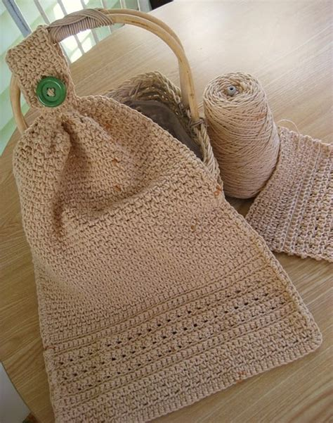 Pattern Crochet Dish Towel | 53 best images about crocheted towel toppers on pinterest