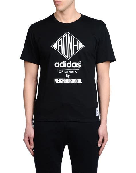 Tshirt T Shirt Adidas By Joe Store by Adidas Originals T Shirt In Black For Lyst