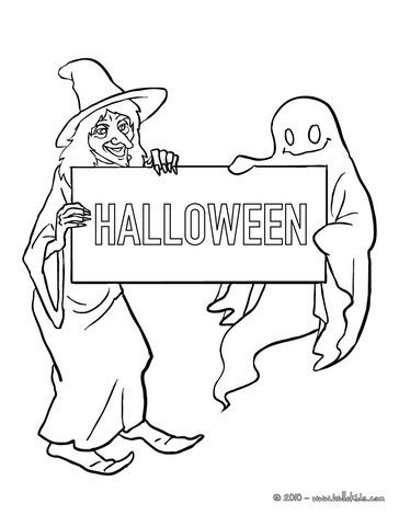 witch with ghosts coloring page halloween witch ghost coloring pages hellokids com