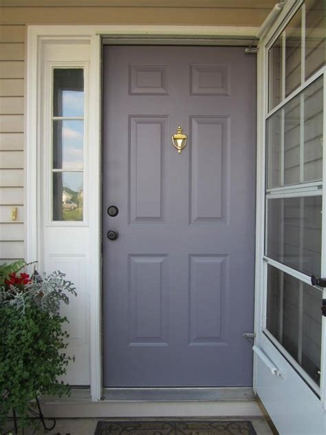 Paint Your Front Door To Boost Curb Appeal Home Staging Painting A Metal Front Door