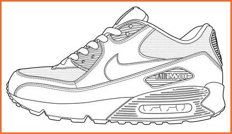 Nike Shoe Template nike shoe template sop exle