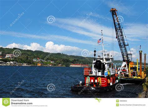 tugboat jobs tugboat job royalty free stock photo image 30839855