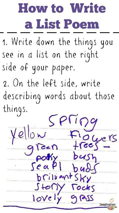 themes list read it write it tell it list poems fun poetry with kids poem writer and