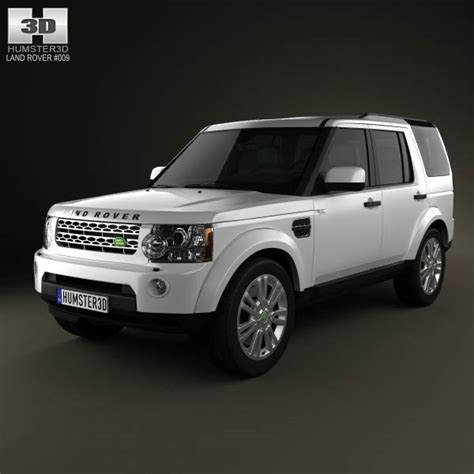 lr4 land rover 2012 land rover discovery 4 lr4 2012 3d model hum3d