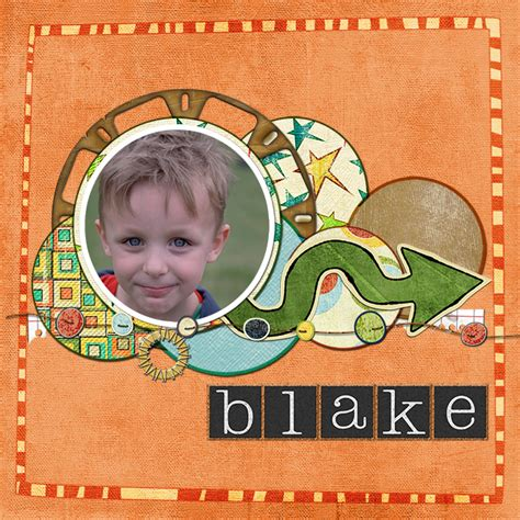 scrapbook layout exles five scrapbook exle layouts using circles part 2