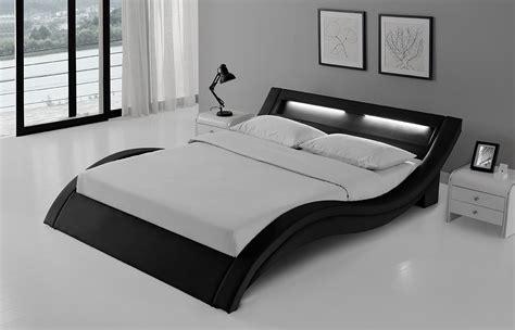 bettdecke 90 x 140 lit cuir noir