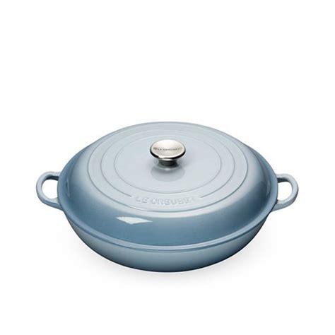 le creuset buffet casserole 30cm 3 2l coastal blue on