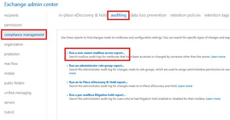Office 365 Mailbox Auditing User And Shared Mailbox Auditing In Exchange 2013 2016