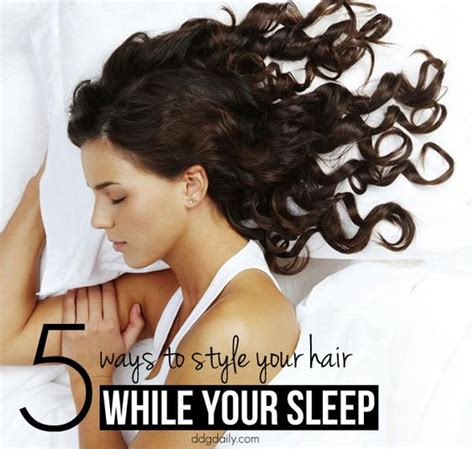 hairstyles for long hair to sleep in overnight hairstyles 5 ways to style your hair while you