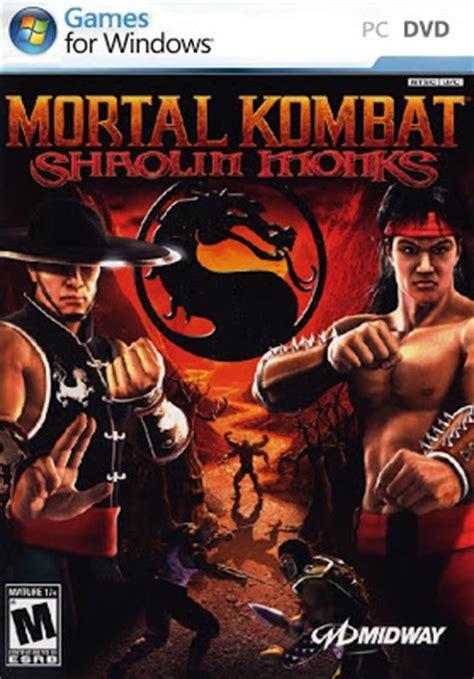 full version pc action games free download mortal kombat shaolin monks pc game free download full