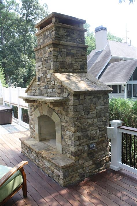 Outdoor Fireplace Stacked Tempting And Brick 17 Best Images About Outdoor Fireplace Pictures On