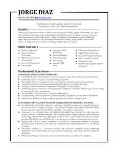 Purchasing Assistant Resume by Buying Resume