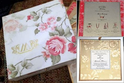 arpita khan wedding card pics insight arpita khan s fairytale sangeet and wedding