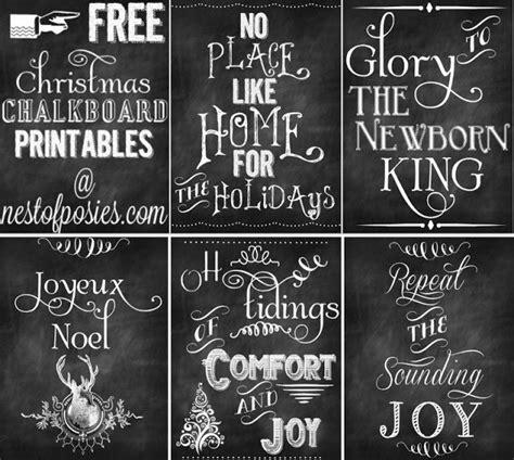 8 best images of printable chalkboard art free printable 5 free christmas chalkboard printables to deck your halls
