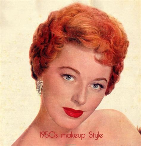 hair and makeup in the 1950s vintage 1950s makeup style guide vintage makeup guide