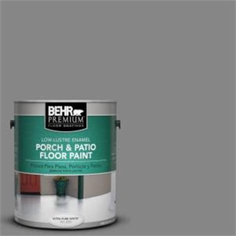 home depot porch and floor paint colors behr premium 1 gal pfc 63 slate gray low lustre porch