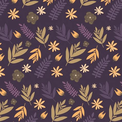 leaves pattern freepik colorful leaves pattern vector free download