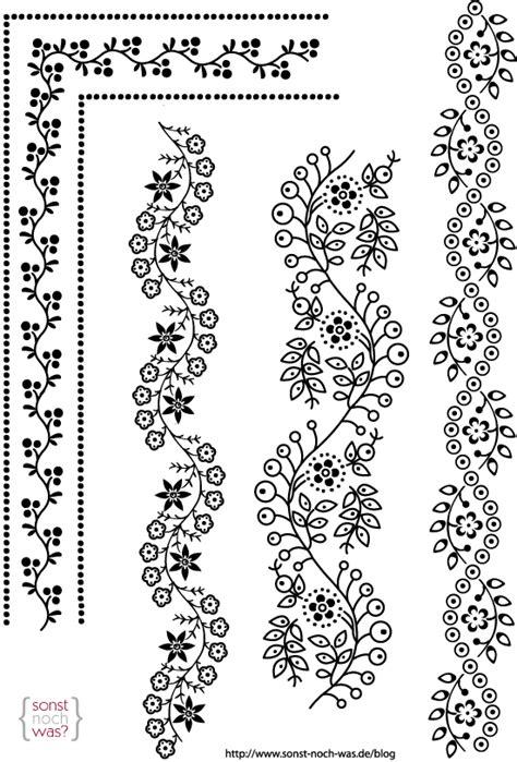Muster Zeichnen Vorlagen Muster Sonst Noch Was Der