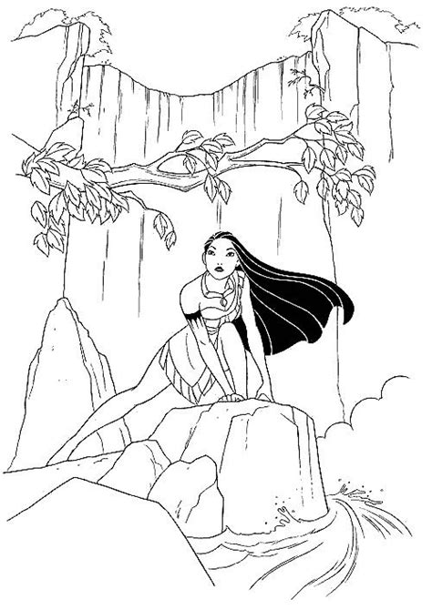 indian princess coloring pages american princess coloring pages