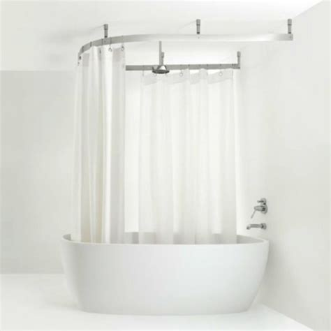shower curtain in or out of tub 21 best images about shower on pinterest track double