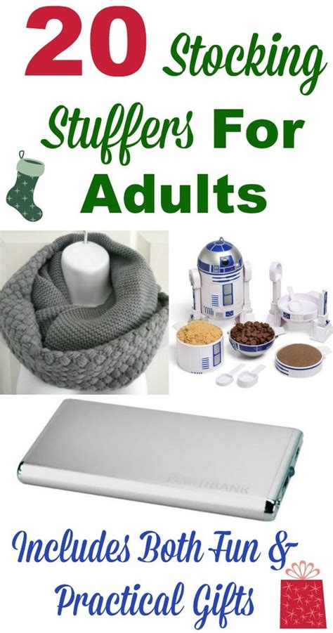 stocking stuffers for adults christmas ad gifts and stockings on pinterest