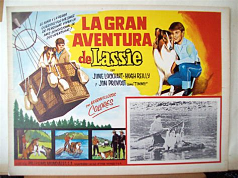 la gran aventura del 8497349784 quot la gran aventura de lassie quot movie poster quot lassie s great adventure quot movie poster